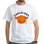 Class of 2027 (Orange) White T-Shirt