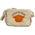 Class of 2029 (Orange) Messenger Bag