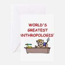 world's greatest anthropolois Greeting Card