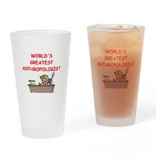 world's greatest anthropolois Drinking Glass