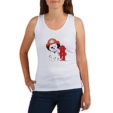 Dalmation Fire Dog Women's Tank Top