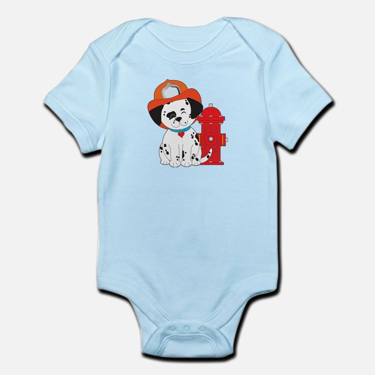 Dalmation Fire Dog Infant Bodysuit