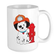 Dalmation Fire Dog Mug