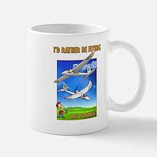 Bixler Rather Be Flying Mug