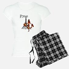 Paris Fashion Capital Pajamas