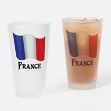 Flag of France Drinking Glass