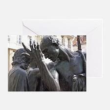 Burhers of Calais Greeting Cards (Pk of 10)