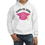 Class of 2024 (Pink) Hooded Sweatshirt