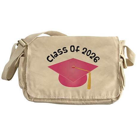 Class of 2026 (Pink) Messenger Bag