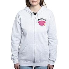Class of 2030 (Pink) Zip Hoodie