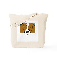 Anime Beagle Tote Bag