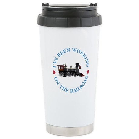 I've Been Working On Th Stainless Steel Travel Mug