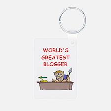 blogger Keychains