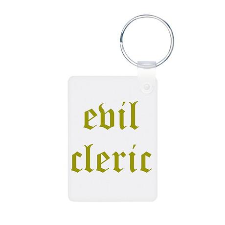 Evil Cleric Aluminum Photo Keychain