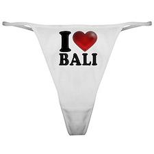 I Heart Bali Classic Thong