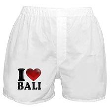 I Heart Bali Boxer Shorts
