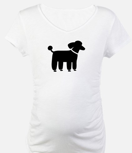 Black Poodle Shirt