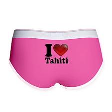 I Heart Tahiti Women's Boy Brief