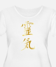 Reiki Plus Size T-Shirt