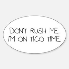 Tico Time Decal