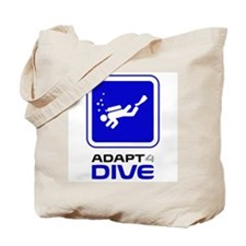 Adaptive Diving Tote Bag