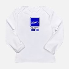 Adaptive Hand Biking Long Sleeve Infant T-Shirt