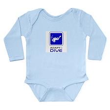 Adaptive Diving Long Sleeve Infant Bodysuit