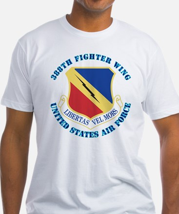 388th Fighter Wing with Text Shirt