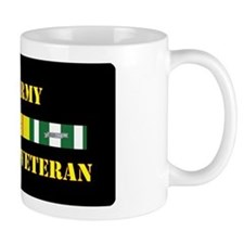 Army Vietnam Vet 1 Star Small Mug