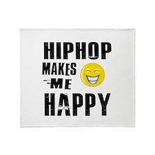 Cool Hip Hop designs Throw Blanket