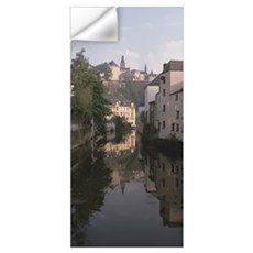 Luxembourg, Luxembourg City, Alzette River Flowing Wall Decal