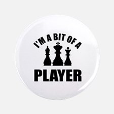 """Cool Chess Designs 3.5"""" Button"""