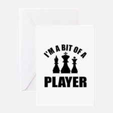 Cool Chess Designs Greeting Card