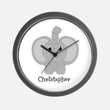 Personalized Elephant Design Wall Clock