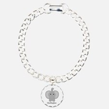 Personalized Elephant Design Bracelet