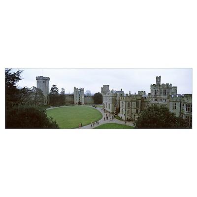 Warwick Castle Great Britain Poster