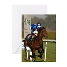 Racing Horse Greeting Cards (Pk of 20)