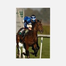 Racing Horse Rectangle Magnet