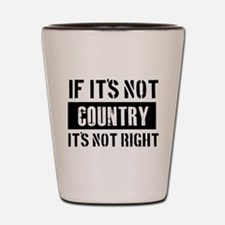 Cool Country designs Shot Glass