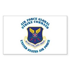 Air Force Global Strike Cmd with Text Decal
