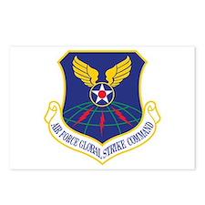Air Force Global Strike Cmd Postcards (Package of