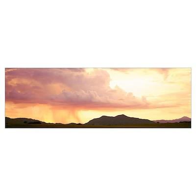 Arizona, Huachuca Mountains, San Rafael Valley, ra Poster