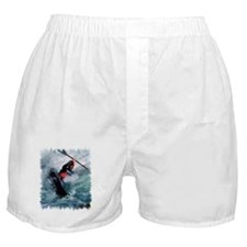 White Water Kayaking Boxer Shorts