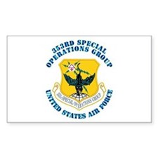353rd Special Operations Group with Text Decal