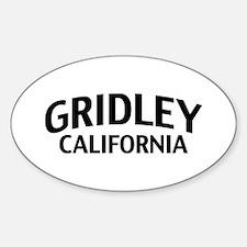 Gridley California Decal