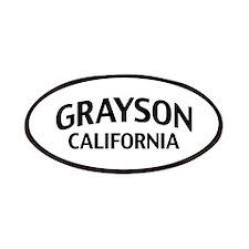 Grayson California Patches