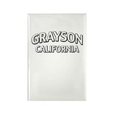 Grayson California Rectangle Magnet