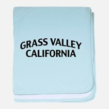 Grass Valley California baby blanket