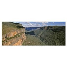 Australia, Blue Mountains National Park, Panoramic Poster