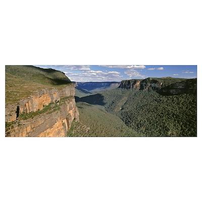 Australia, Blue Mountains National Park, Panoramic Poster